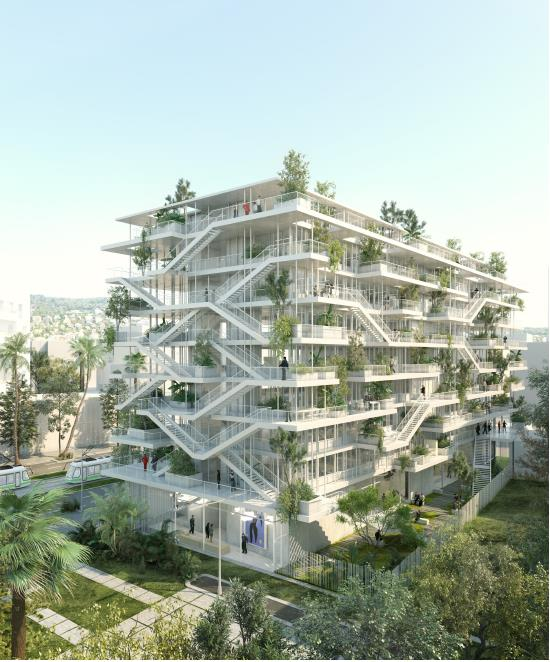 Immeuble Anis - ZAC Nice Meridia - 2 © Nicolas Laisné Associés