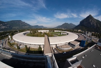 Extension du synchrotron de grenoble