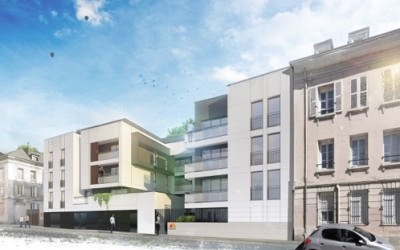 Logements sociaux Habitat 76 – Bim d'argent – Rouen (76)