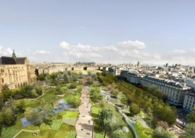 Aménagement du Jardin des Halles (Paris 1er), SemPariSeine