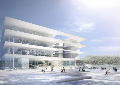 ATRIUM © SCAU architectes mandataires. COSTE ARCHITECTURES architectes associés. Image  Inui