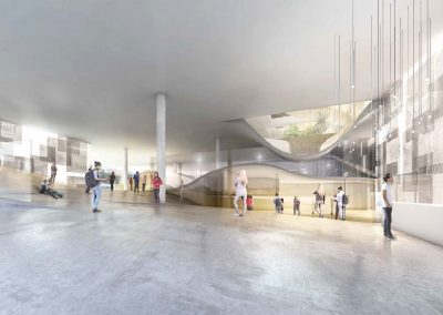 ATRIUM-2 ©SCAU architectes (mandataire), COSTE architectures (associé). Image Inui