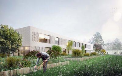 Bâtiment scientifique du Lycée Théodore Monod – Le Rheu (35)