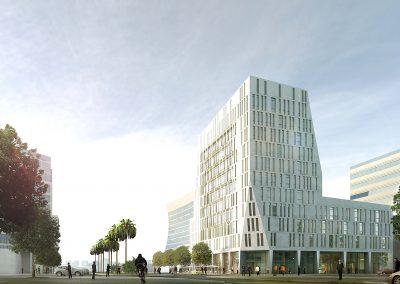 Immeuble Bureaux ATLAS - Alger - Atelier Tom Sheehan & Partenaires
