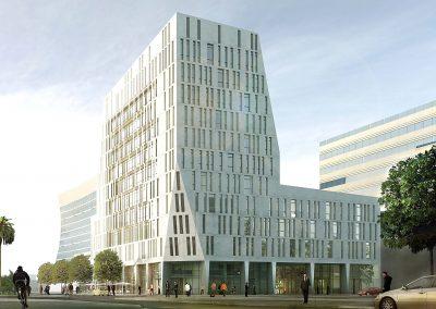 Immeuble Bureaux ATLAS - Alger - Atelier Tom Sheehan & Partenaires_Focus1