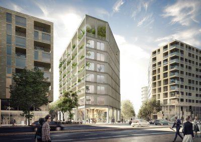 Quartier Belvédère – Immeuble Bureaux, Ilot EB4 – Bordeaux rive droite (33)