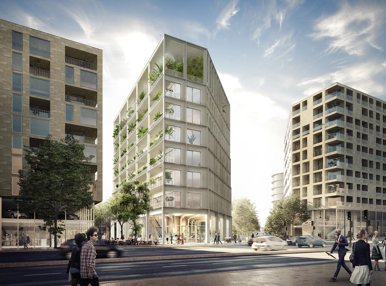 Belvedere Bordeaux - Immeuble Bureaux