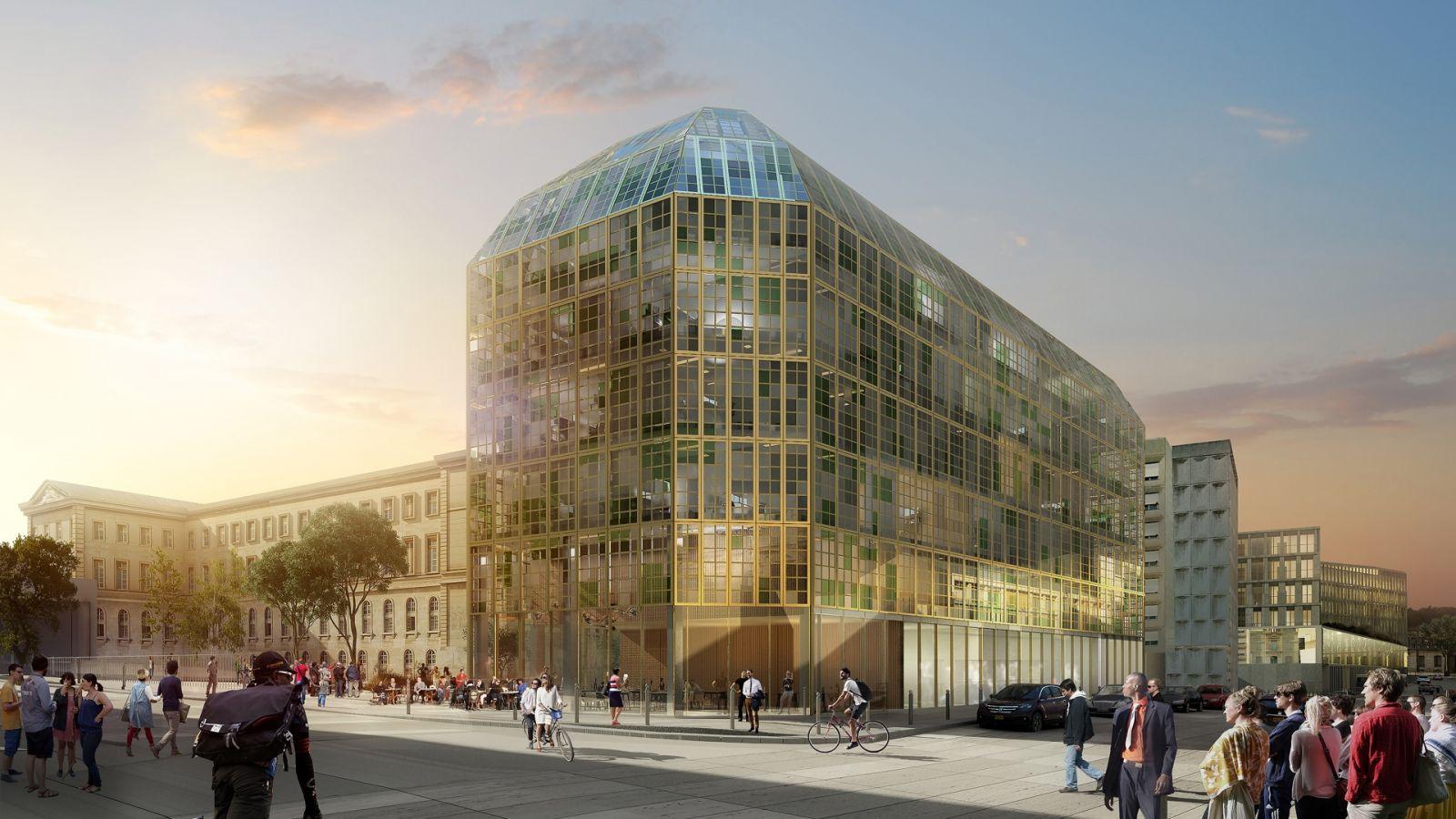 Nouvel Hopital Lariboisière - Brunet Saunier Architecture & Bernard Desmoulins Architecte
