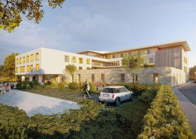 EHPAD Villefranche sur Saone 1-©TLR Architecture & Associés