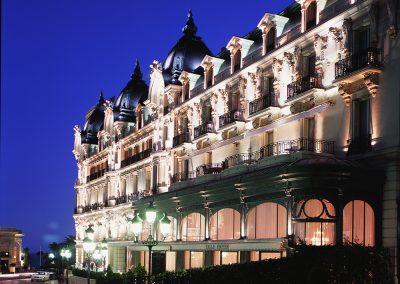 Hôtel de Paris - Façade de Jour
