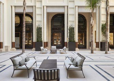 Hôtel de Paris - Patio
