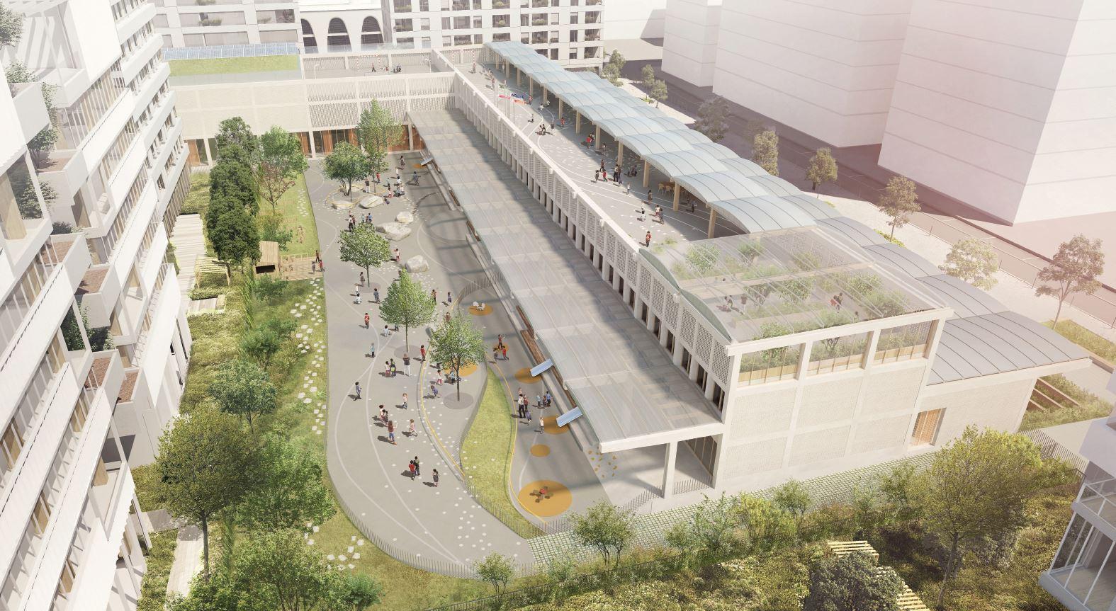 GS Lyon Confluence ©Vurpas Architectes-Atelier Fau 2