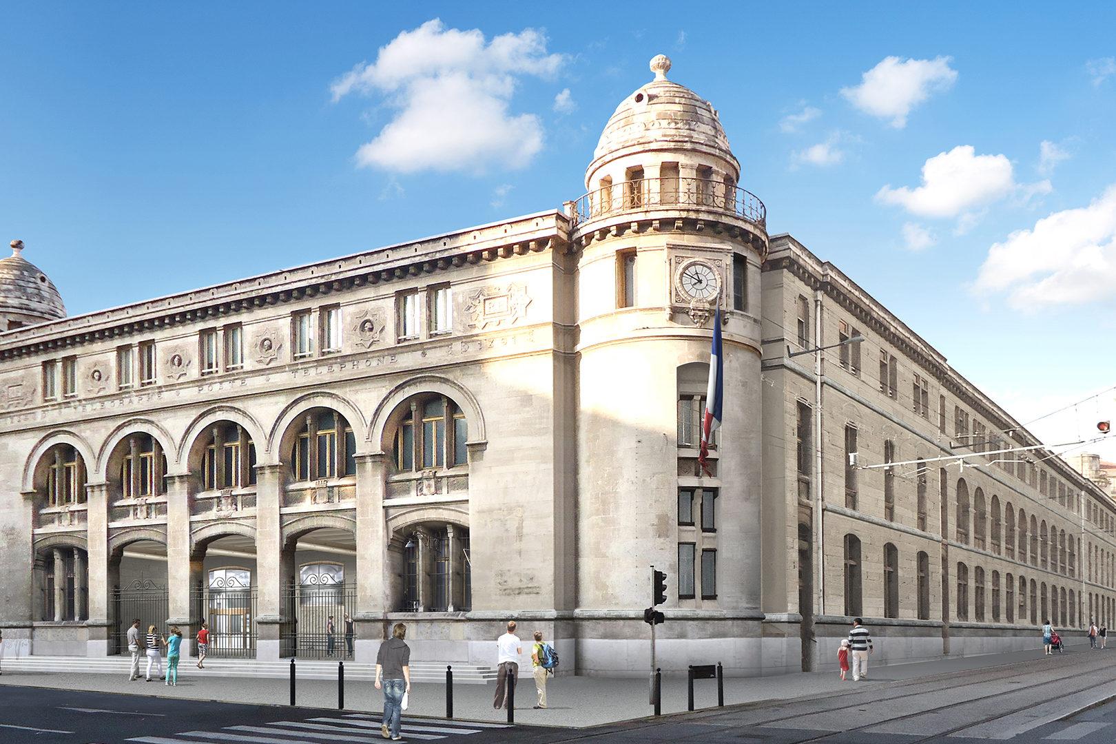 Poste Colbert - Marseille (13)