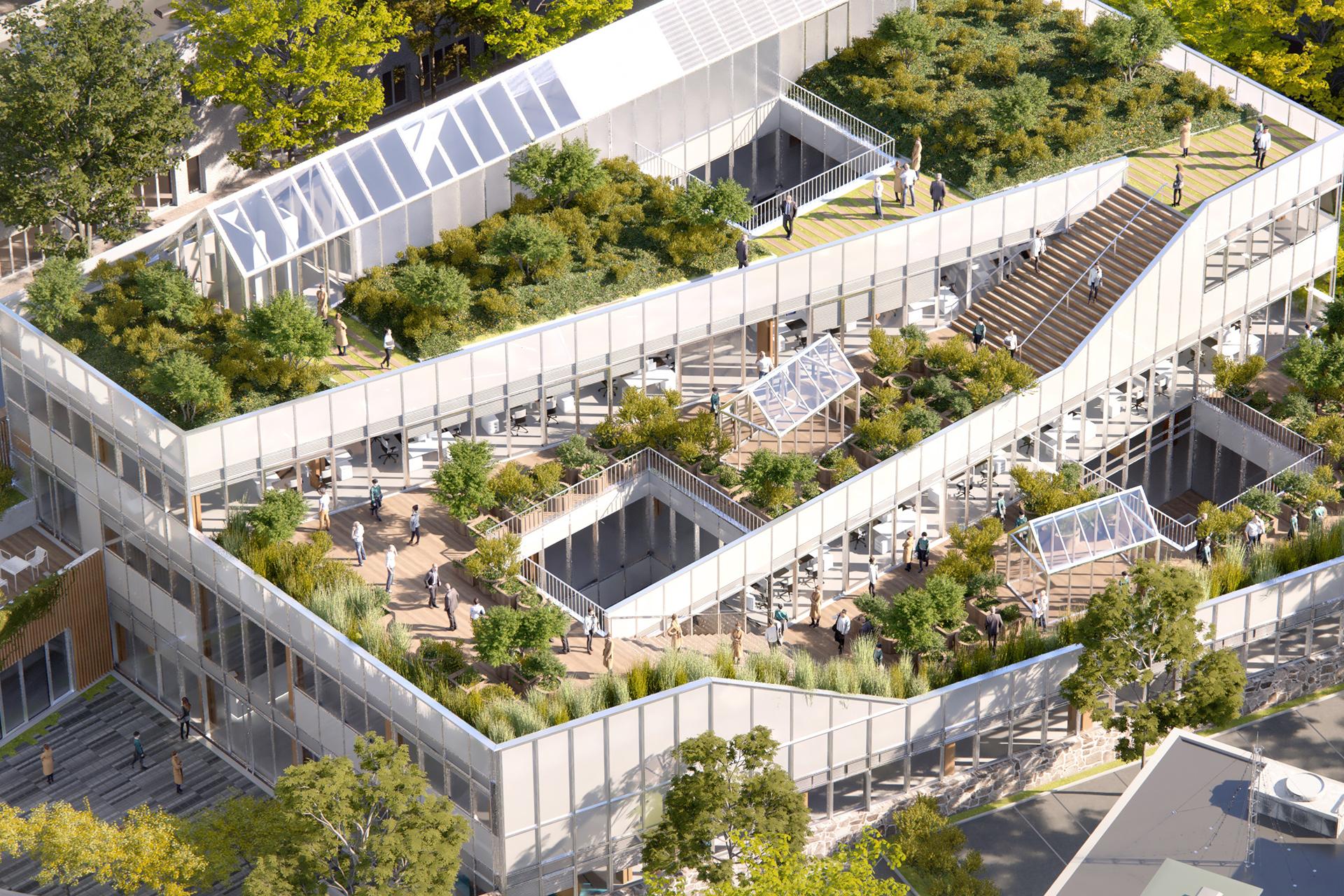 Siege RATP Habitat Paris 20